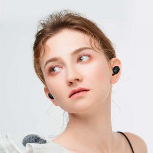 استفاده در حالت تک گوش و دو گوش هدفون بلوتوث haylou gt1 xr