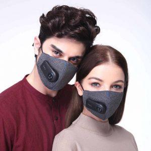 پوشیدن ماسک فیلتردار شیائومی
