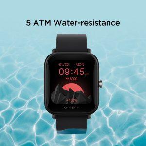 ضد آبی در ساعت هوشمند امیزفیت Amazfit Bip U Pro