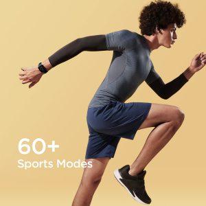 حالت های متعدد ورزشی در ساعت هوشمند امیزفیت Amazfit Bip U Pro