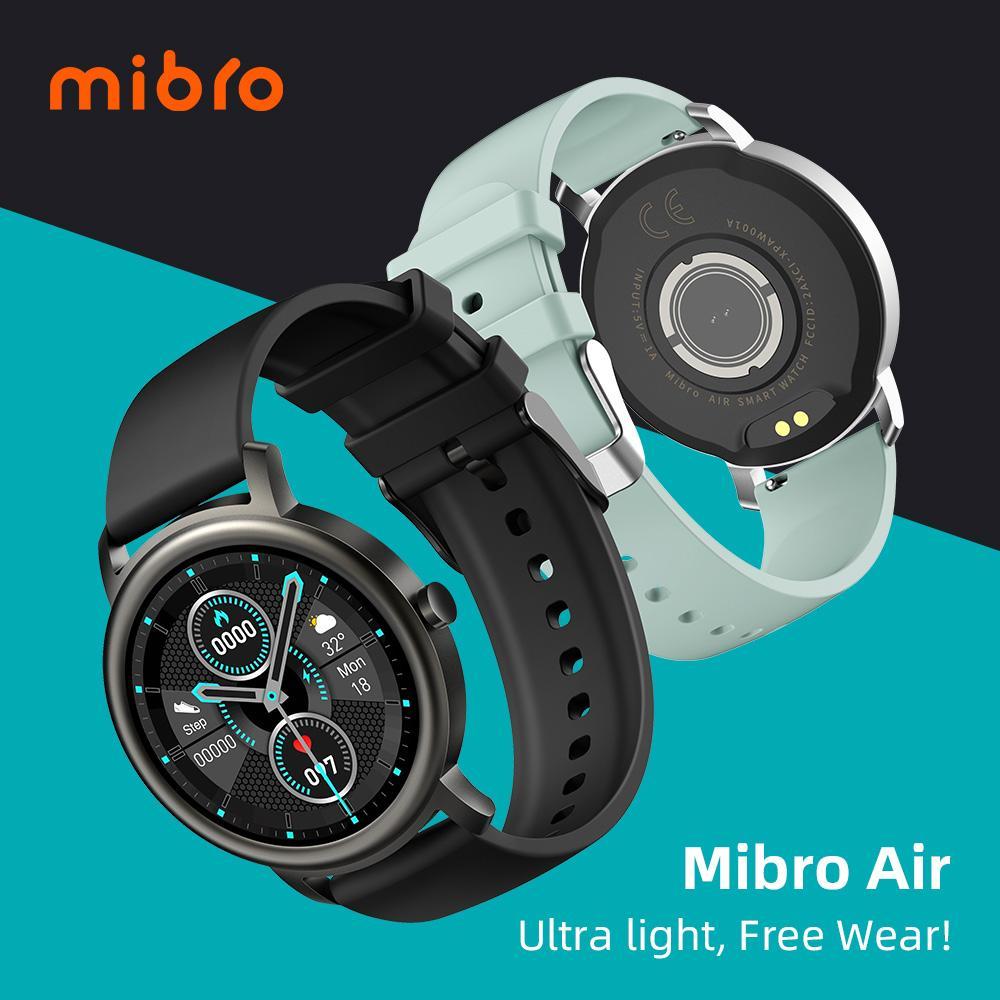 طراحی و وزن سبک ساعت هوشمند شیائومی Mibro air
