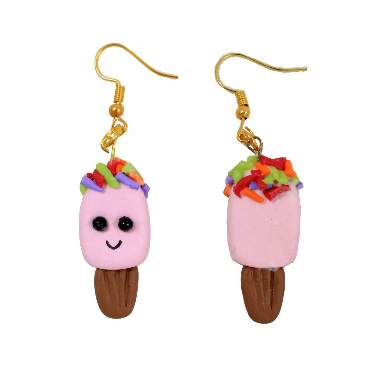 گوشواره بستنی مدل ice cream 1