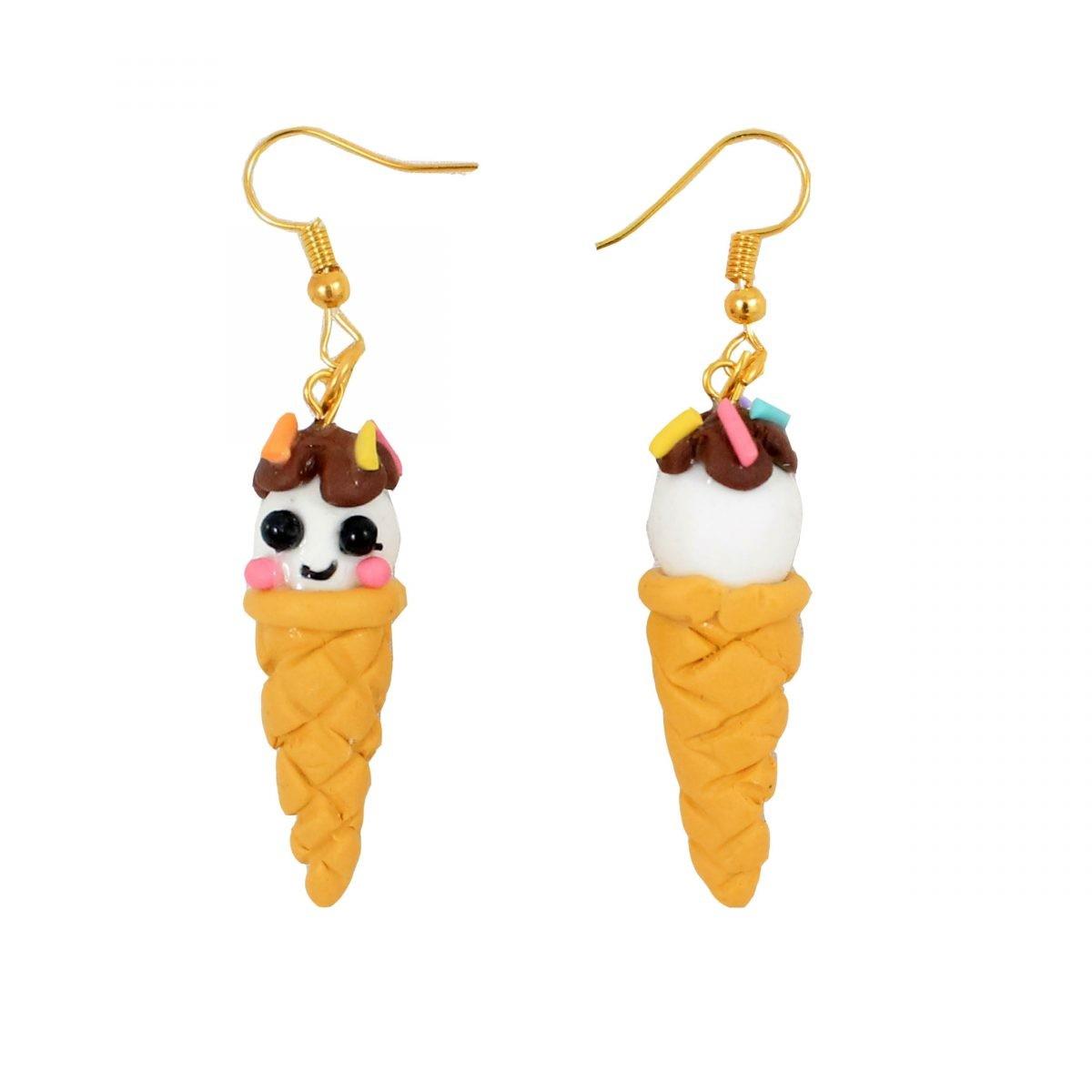 گوشواره بستنی مدل ice cream3